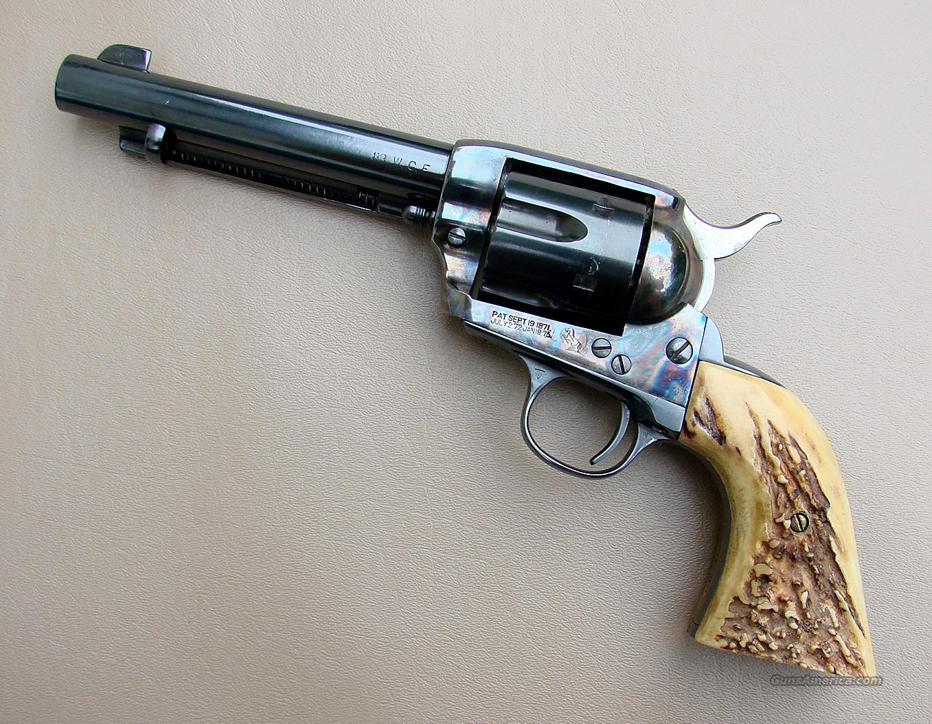 38-40 Colt Single Action Revolver with Genuine  for sale