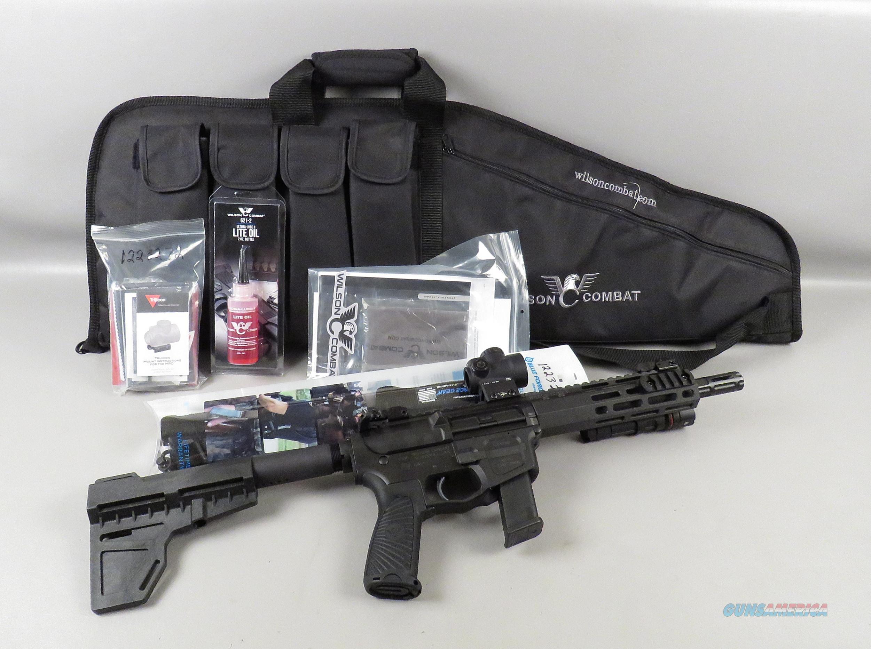 WILSON COMBAT 9MM AR-15 PISTOL with TRIJICON MRO and Vickers Sling  Guns > Pistols > Wilson Combat Pistols