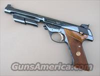 HI STANDARD 22 Supermatic Trophy Model 104 Target Pistol  Guns > Pistols > High Standard Pistols
