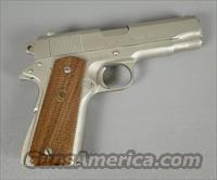 Colt Combat Commander Series 70 Satin Nickel in 45 ACP  Guns > Pistols > Colt Automatic Pistols (1911 & Var)