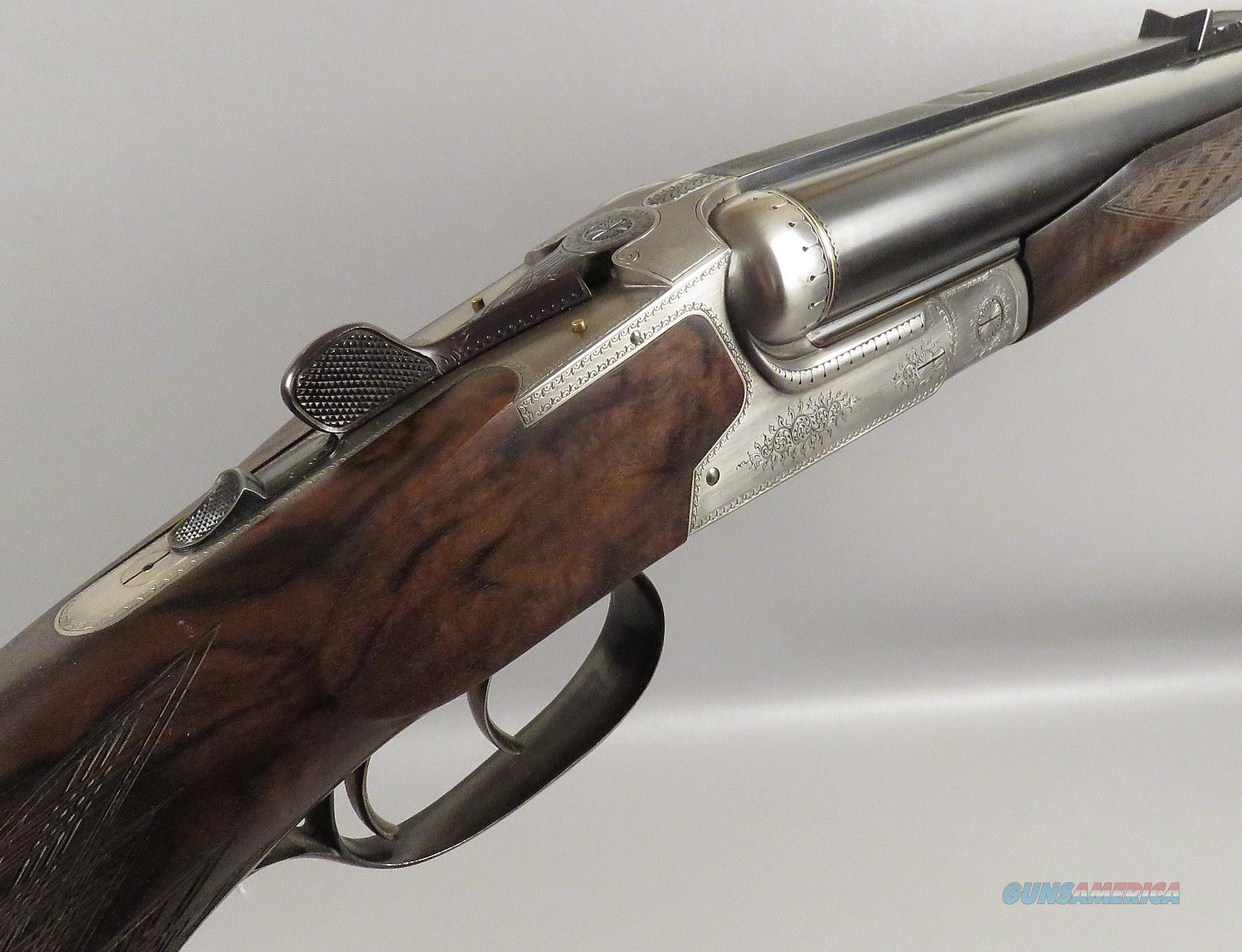 HEYM 470 Ntro Express Double Rifle. Big Game Safari Gun with 5 Boxes Of Ammunition  Guns > Rifles > H Misc Rifles