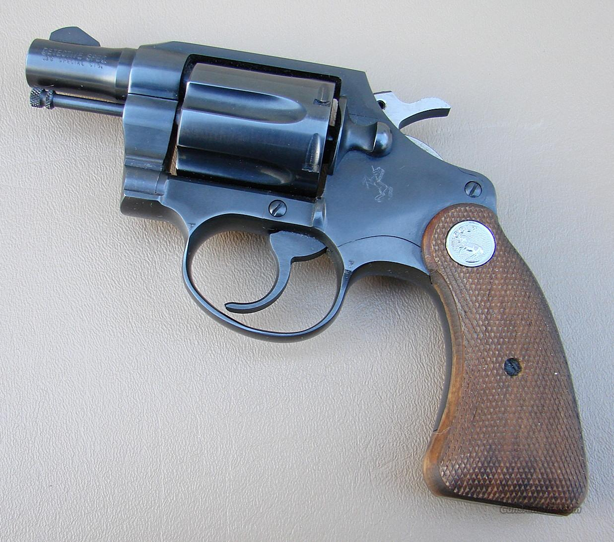 Colt Detective Special 38 Special With 2 Inch Barrel  Guns > Pistols > Colt Double Action Revolvers- Modern