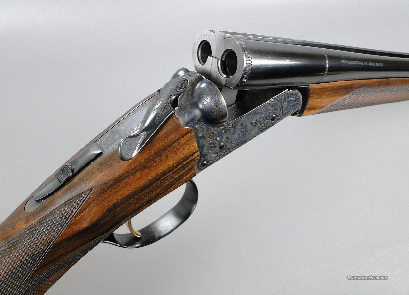 Cased Fausti DEA 410 SXS Shotgun SPECIAL SALE  Guns > Shotguns > Fausti Shotguns