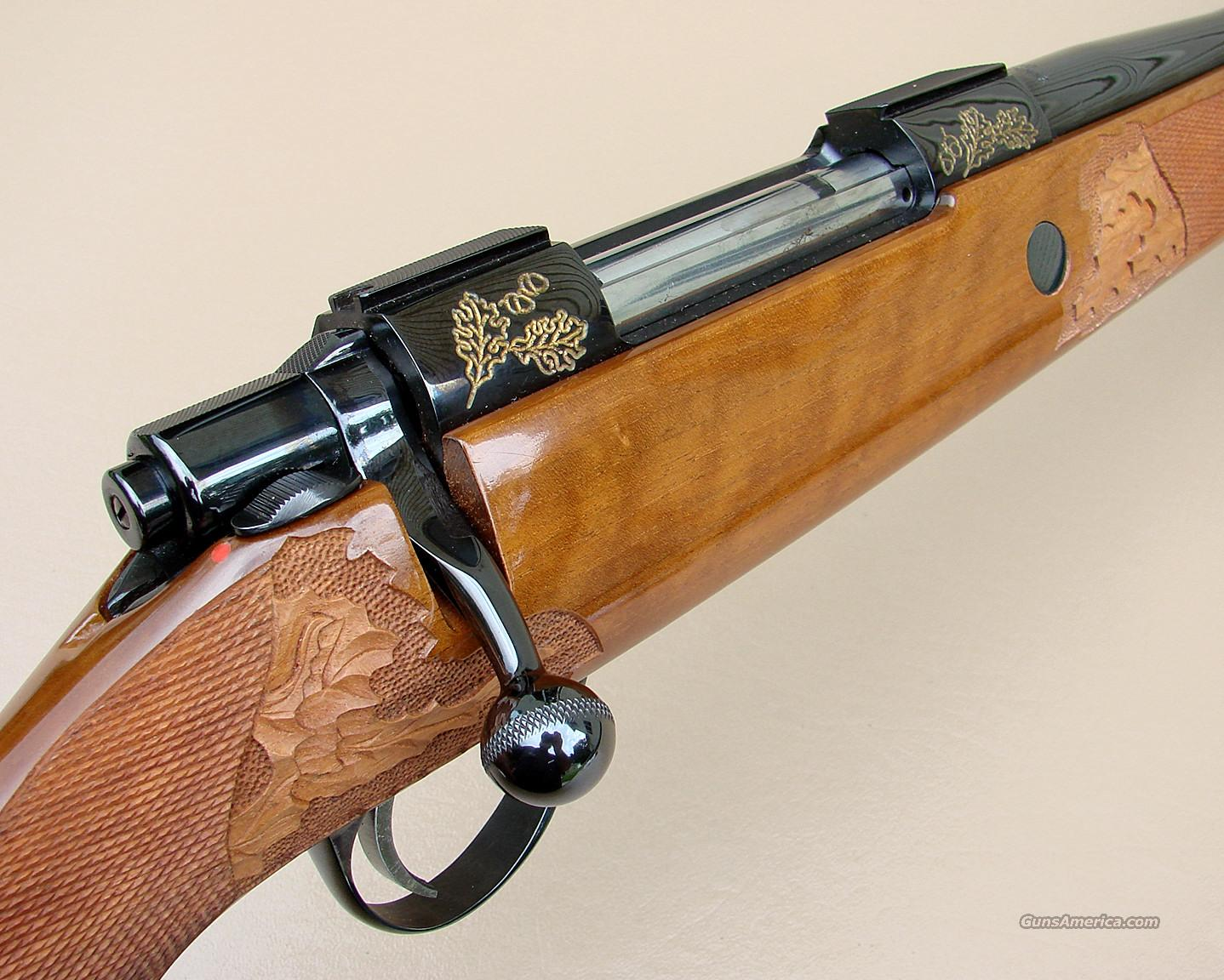 Sako L61R Golden Anniversary 7 M/M Remington Magnum Rifle  Guns > Rifles > Sako Rifles > Other Bolt Action