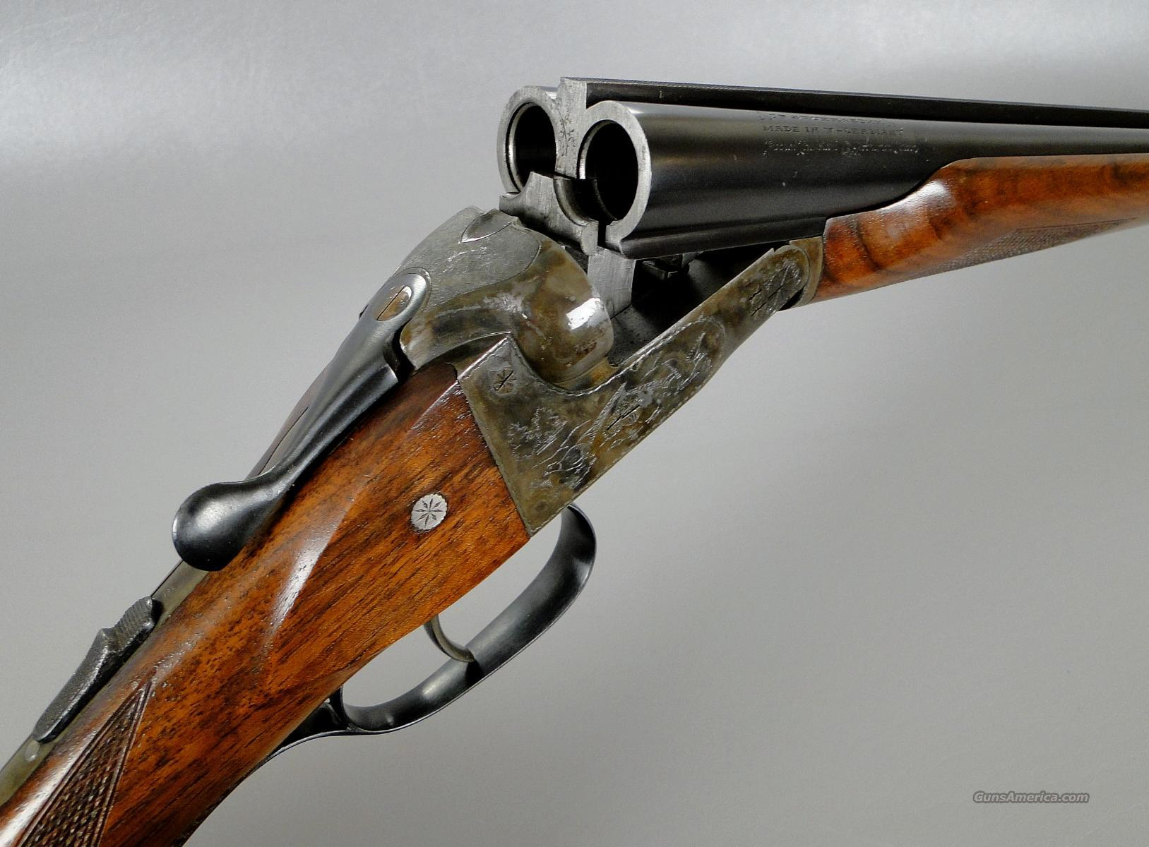 JP Sauer 20 Gauge Side By Side Shotgun with Beavertail Forend IN Excellent Condition!  Guns > Shotguns > J.P. Sauer Shotguns