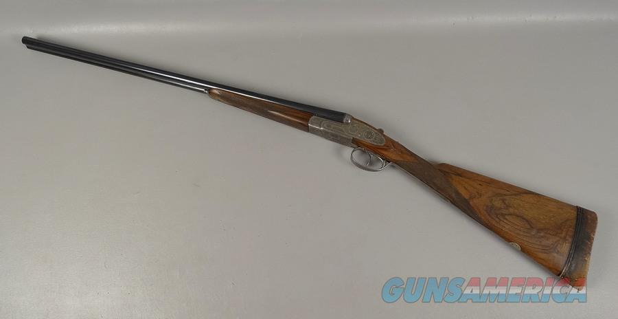 ARRIETA 28 Gauge Shotgun 2 Barrel Set In Leather Case  Guns > Shotguns > Arrieta Shotguns