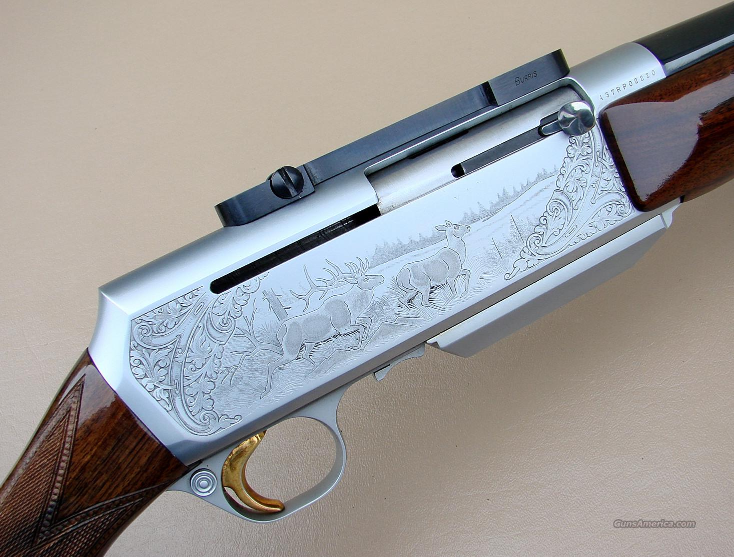 Belgian Browning BAR Grade IV Safari Rifle in 300 Winchester Magnum  Guns > Rifles > Browning Rifles > Semi Auto > Hunting