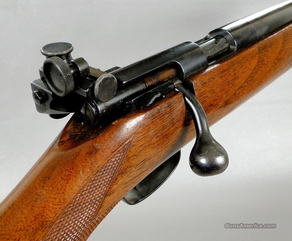 Winchester model 75 Sporting Rifle with lyman Receiver Sight  Guns > Rifles > Winchester Rifles - Modern Bolt/Auto/Single > .22 Boys Rifles