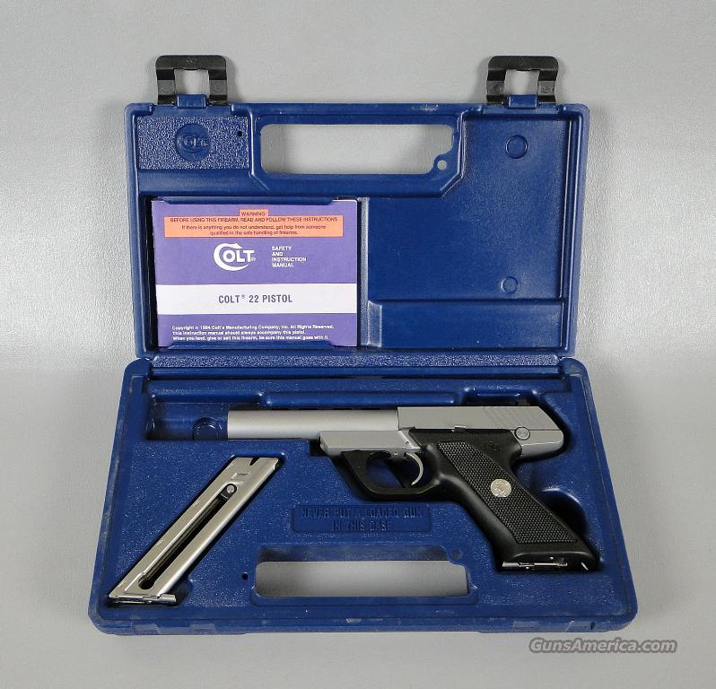 Colt 22 Caliber Automatic Pistol in Factory Box with Extra Magazine  Guns > Pistols > Colt Automatic Pistols (22 Cal.)