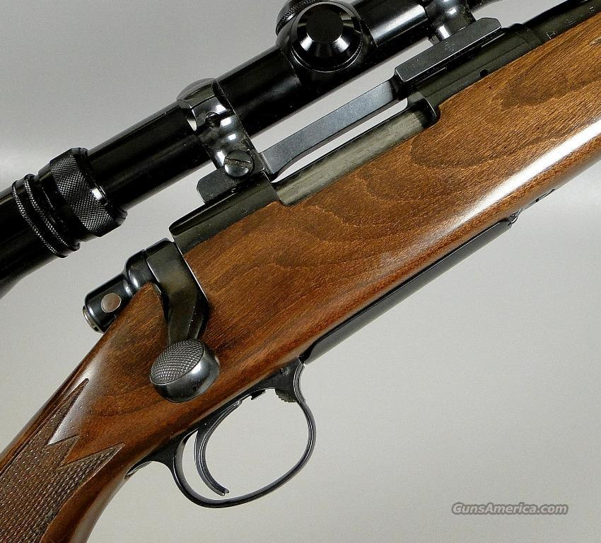 REMINGTON MODEL 700 BDL Rifle in 243 with 3 X 9 Redfield Scope  Guns > Rifles > Remington Rifles - Modern > Model 700 > Sporting