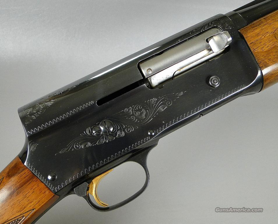Belgian Browning A5 20 Gauge Magnum Auto 5 Shotgun with 28 Inch Full Choke Barrel 98 Percent Plus Condition!   Guns > Shotguns > Browning Shotguns > Autoloaders > Hunting