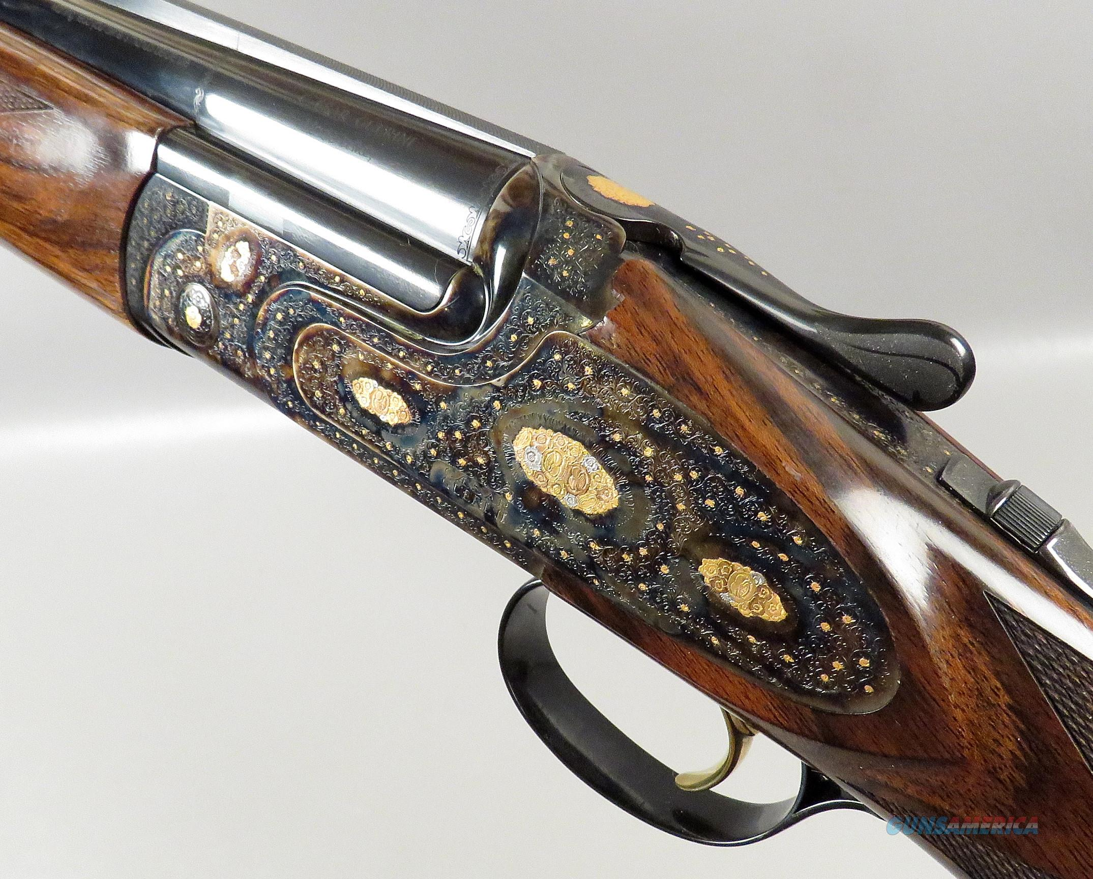 CAESAR GUERINI ESSEX LIMITED GOLD Shotgun 20 28 Ga ELITE EDITION Combo 28 Inch BBLS UNFIRED  Guns > Shotguns > Guerini Shotuns