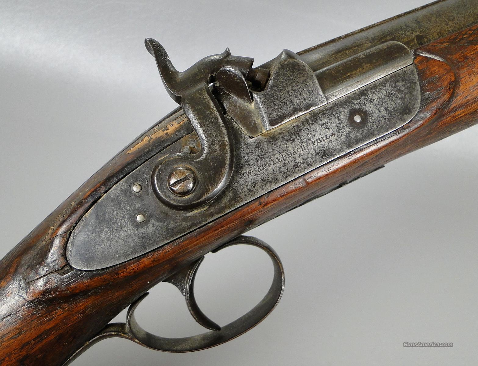 Antique Philadelphia 8 Gauge Damascus Barrel Muzzleloading Shotgun  Guns > Shotguns > Muzzleloading Pre-1899 Shotguns