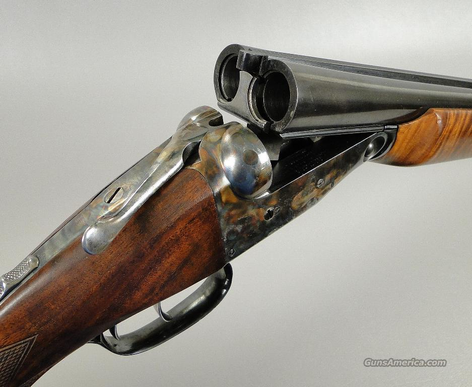 Parker 16 Gauge Trojan Shotgun with Very Fancy Upgraded Stocks  Guns > Shotguns > Parker Shotguns