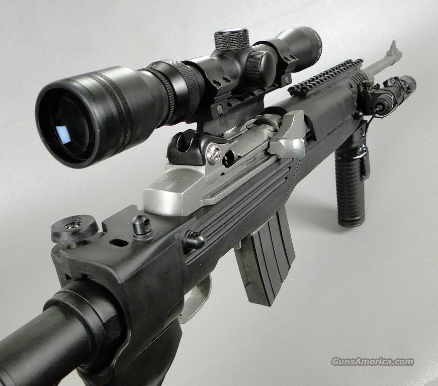 Ruger MINI 14 TACTICAL Rifle with Laser Scope and Folding Stock  Guns > Rifles > Ruger Rifles > Mini-14 Type