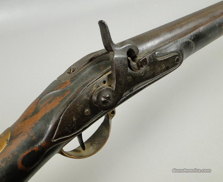 DUTCH REVOLUTIONARY WAR FLINTLOCK MUSKET CONVERTED TO PERCUSSION  Guns > Rifles > Muzzleloading Pre-1899 Rifles (flint)