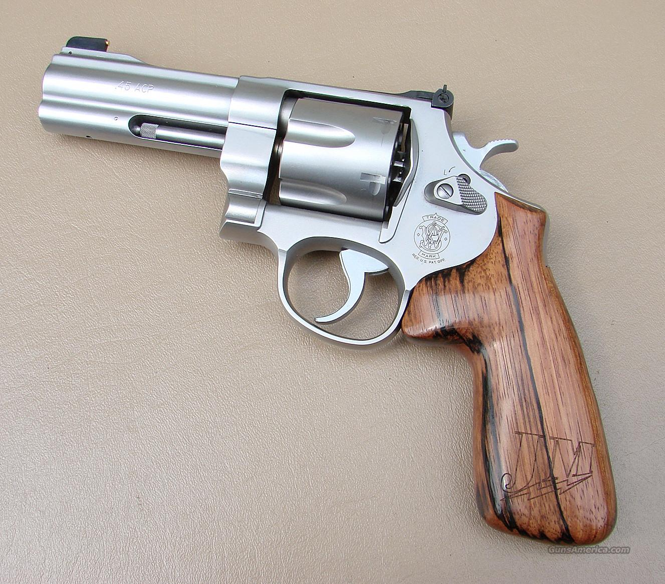 JERRY MICULEK S&W Performance Center Model 625 45 ACP Revolver  Guns > Pistols > Smith & Wesson Revolvers > Performance Center