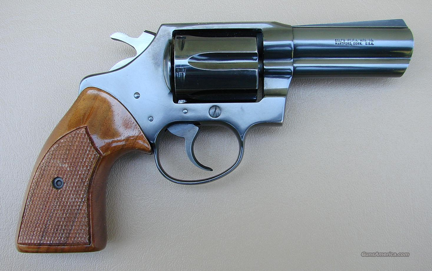 Colt Dective Special Revolver with 3 Inch Barrel  Guns > Pistols > Colt Double Action Revolvers- Modern