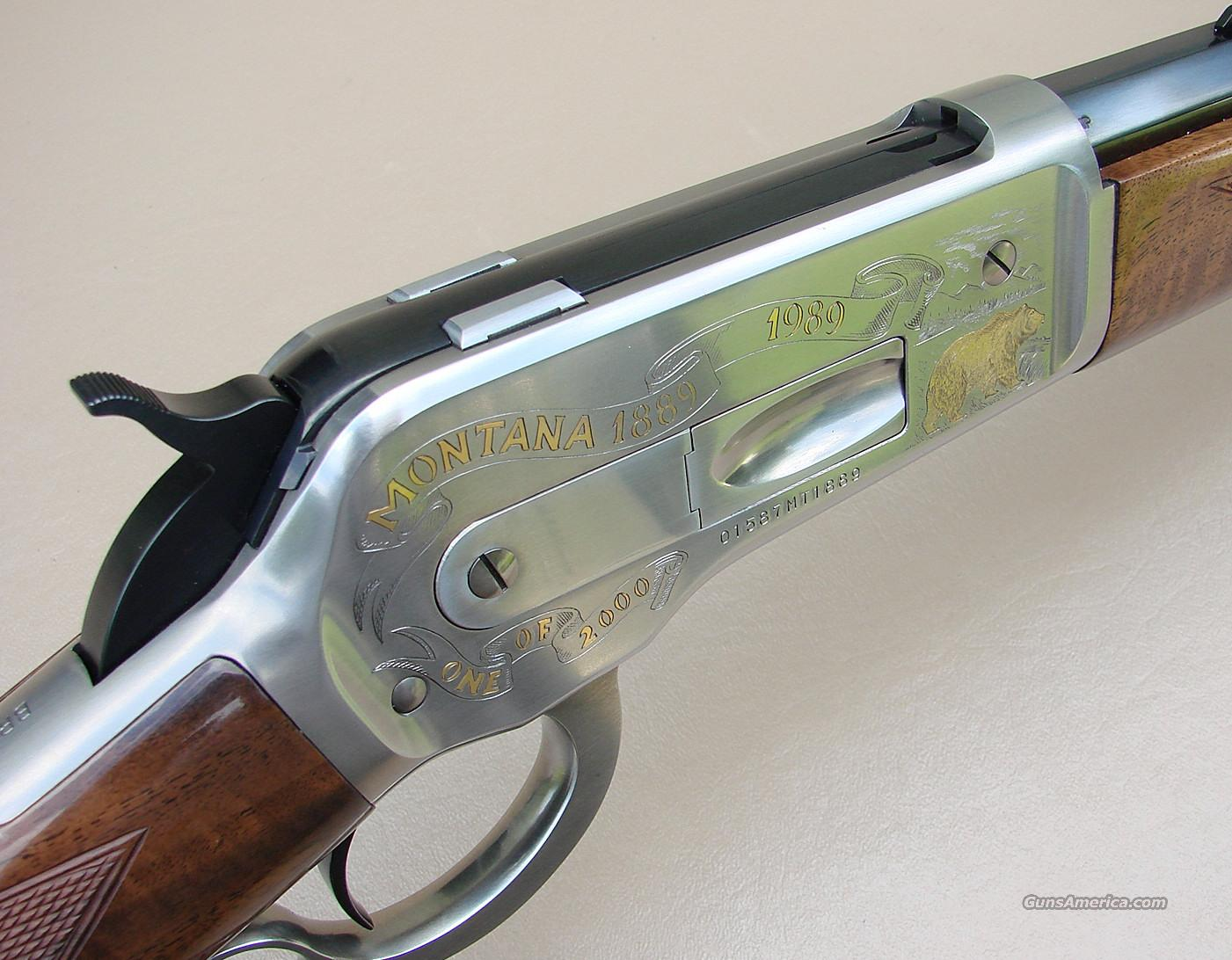 45-70 Winchester Model 1886 Made by Browning Montana Centennial  Guns > Rifles > Browning Rifles > Lever Action