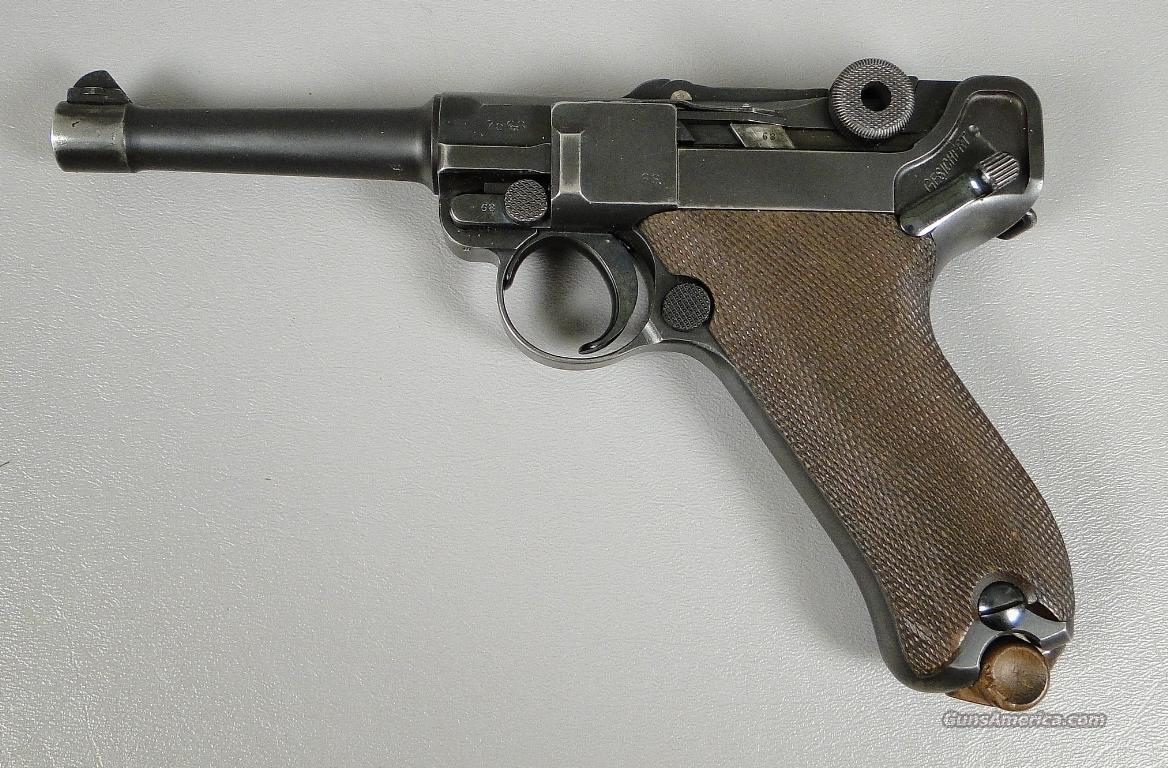 1912 DWM Luger in 9MM with Extra Magazine  Guns > Pistols > Luger Pistols