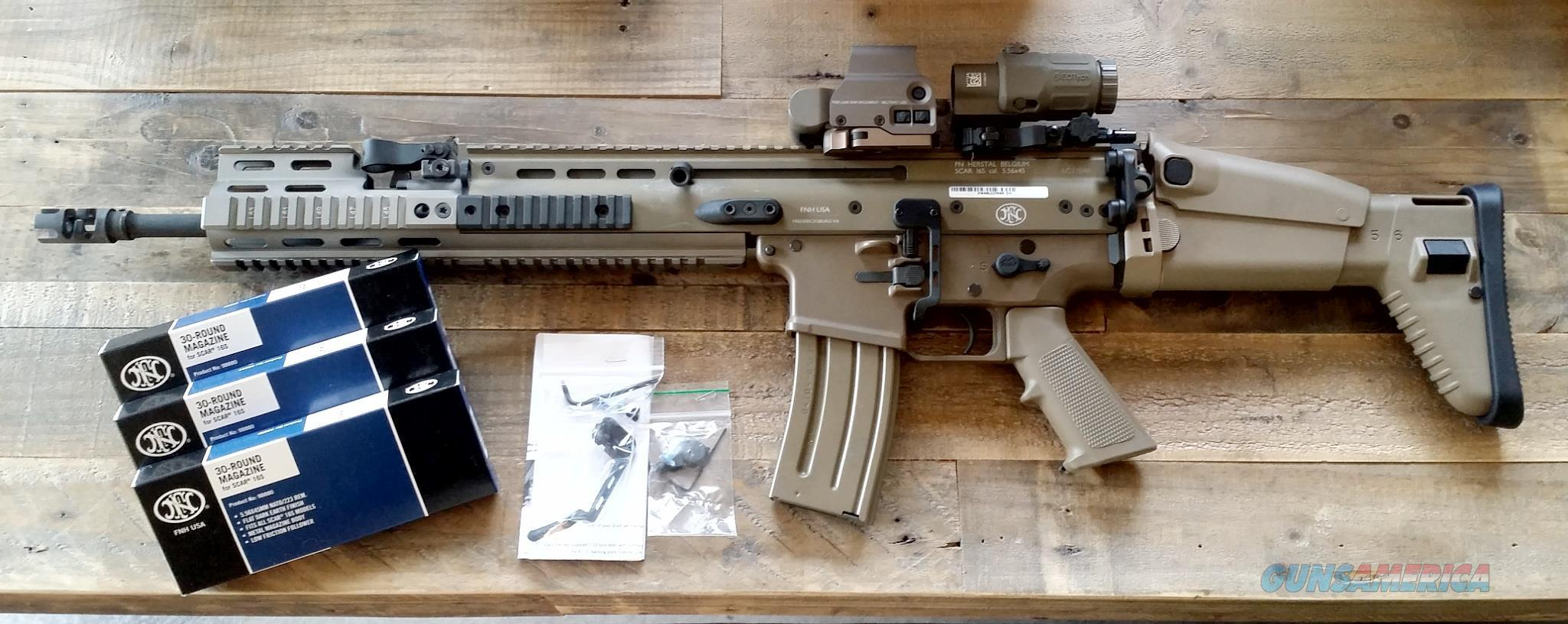 FN SCAR 16 FDE  Guns > Rifles > FNH - Fabrique Nationale (FN) Rifles > Semi-auto > Other
