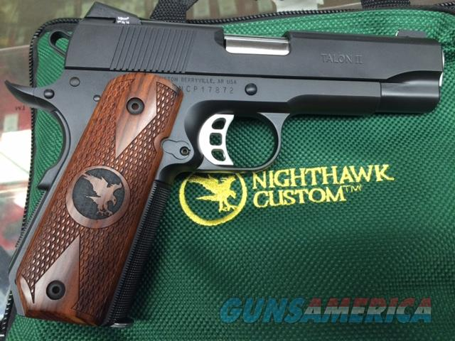 NIGHTHAWK TALON II 9MM NIB  Guns > Pistols > 1911 Pistol Copies (non-Colt)