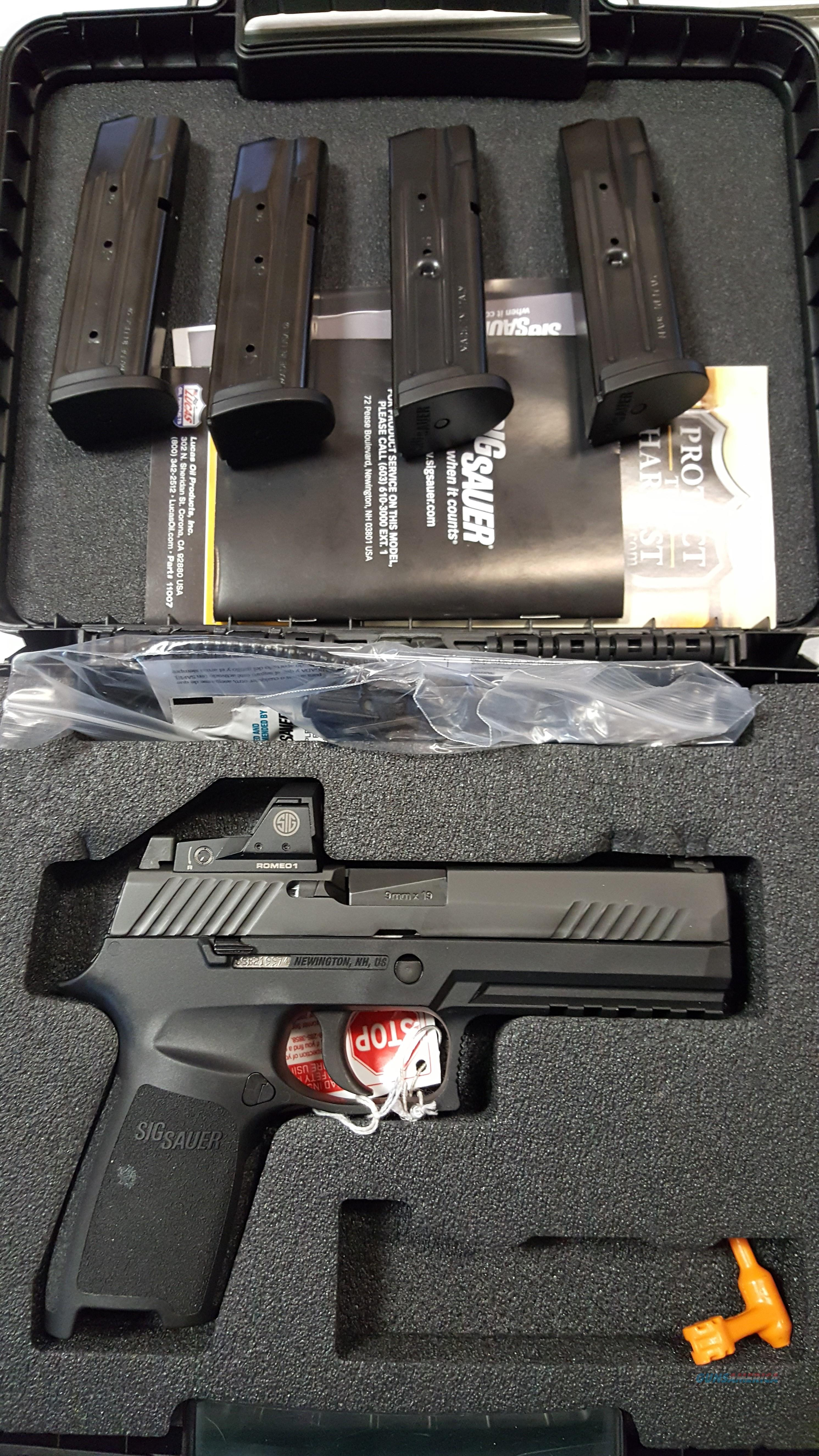 Sig Sauer P320 9mm 2 extra mags FREE SHIPPING NO CC FEE!!!!!  Guns > Pistols > Sig - Sauer/Sigarms Pistols > P320