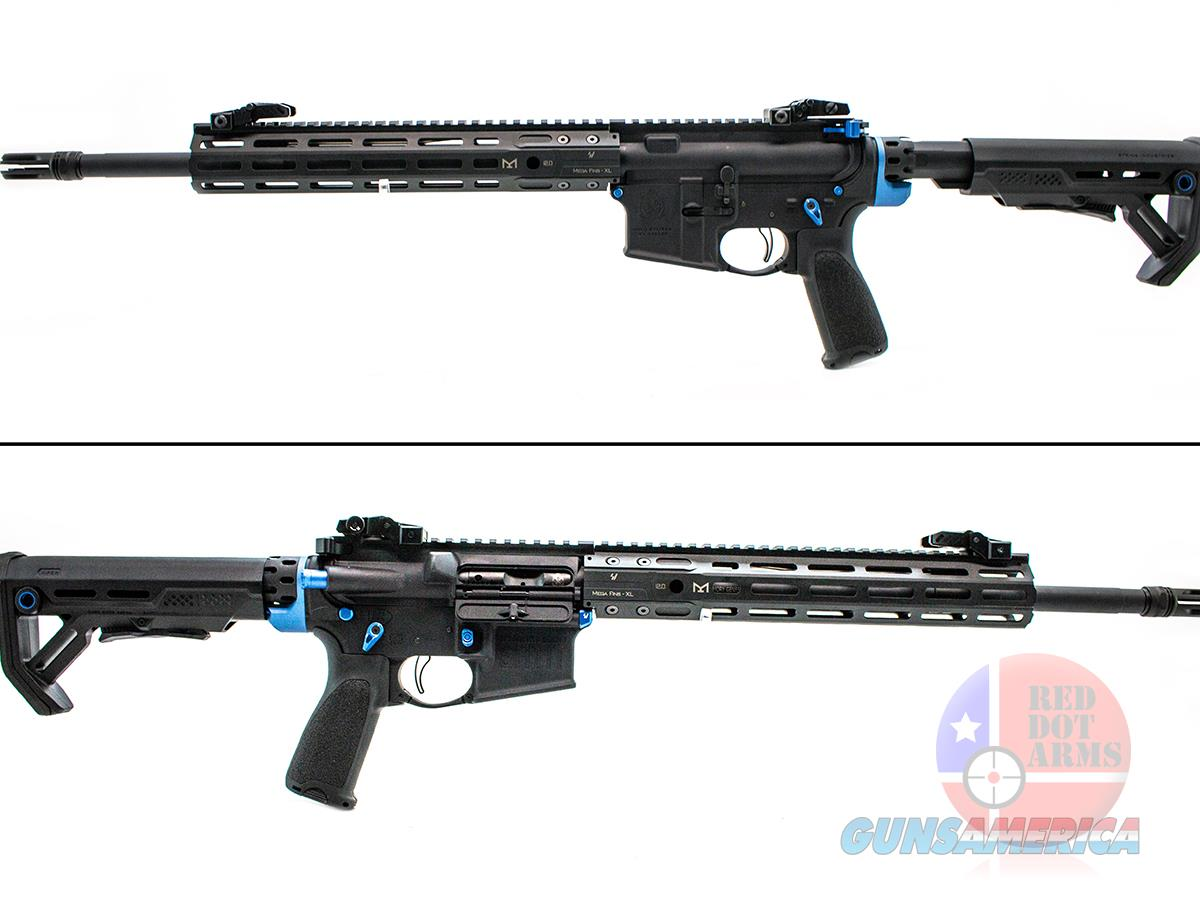 "Springfield Saint 5.56 16"", Blue Accents, Custom Build  Guns > Rifles > Springfield Armory Rifles > SAINT"