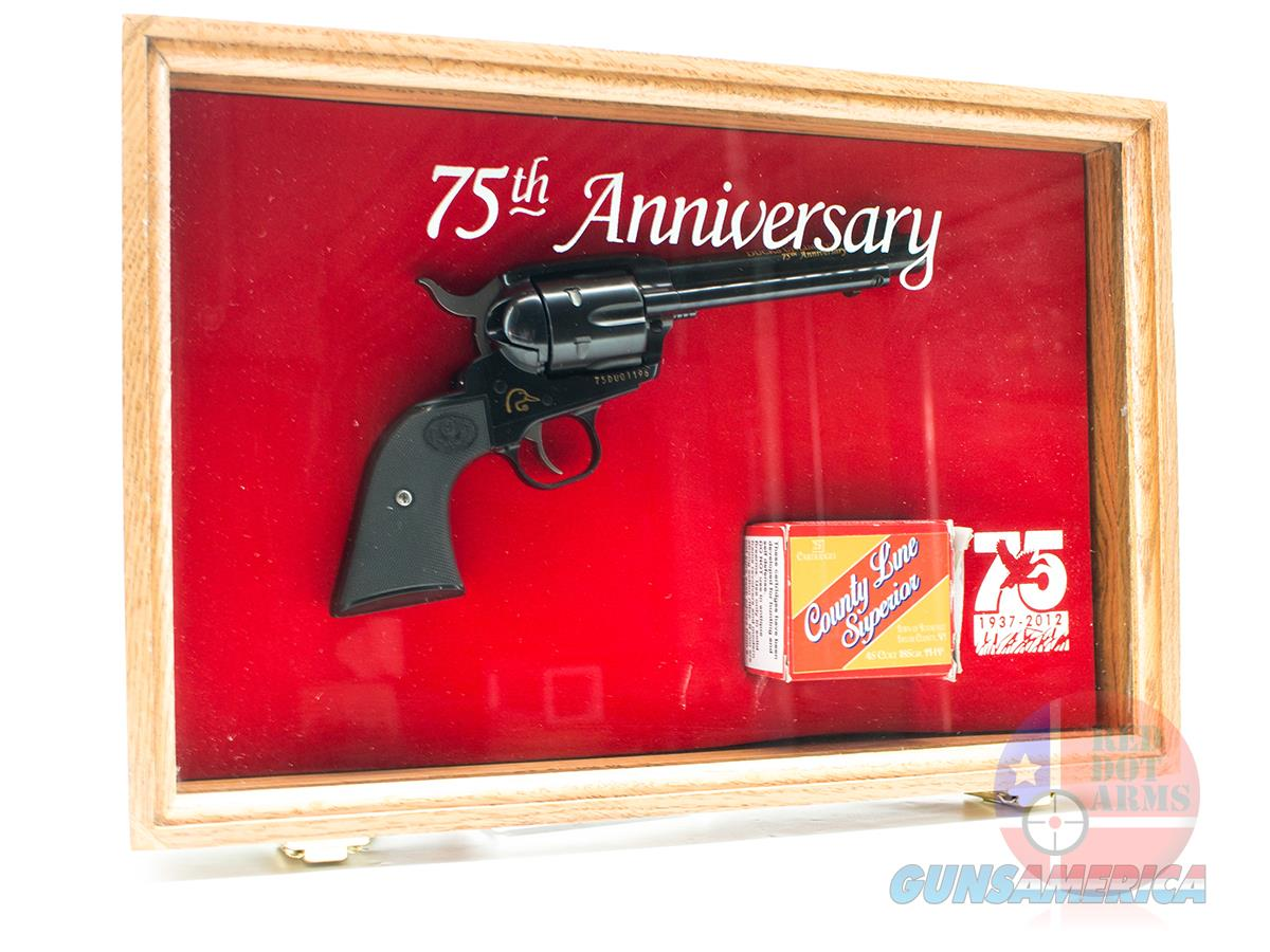 Unfired Ducks Unlimited Ruger New Vaquero 45LC 75th Anniversary in Case  Guns > Pistols > Ruger Single Action Revolvers > Cowboy Action