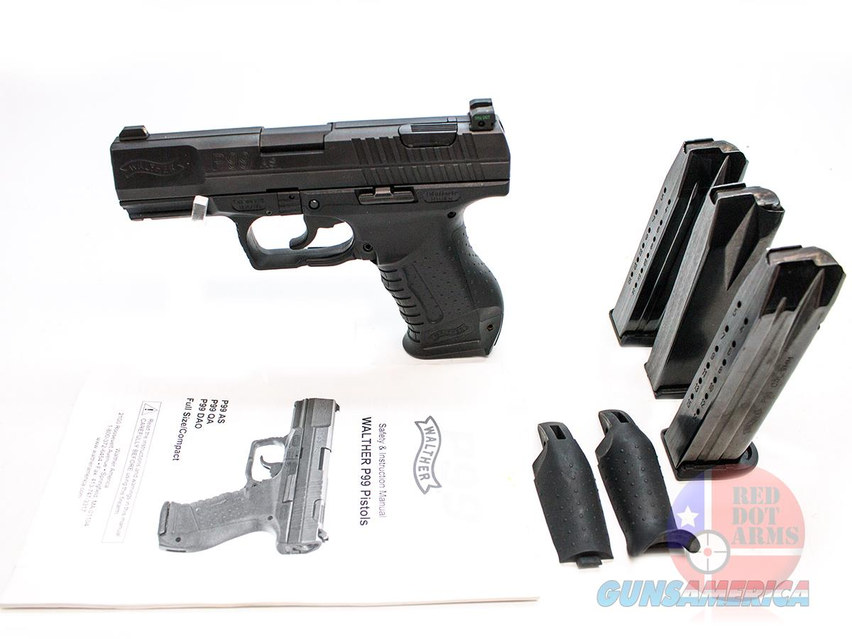 "Walther P99 9mm 4"", Tru Dot Night Sights, Original Hard Case  Guns > Pistols > Walther Pistols > Post WWII > P99/PPQ"