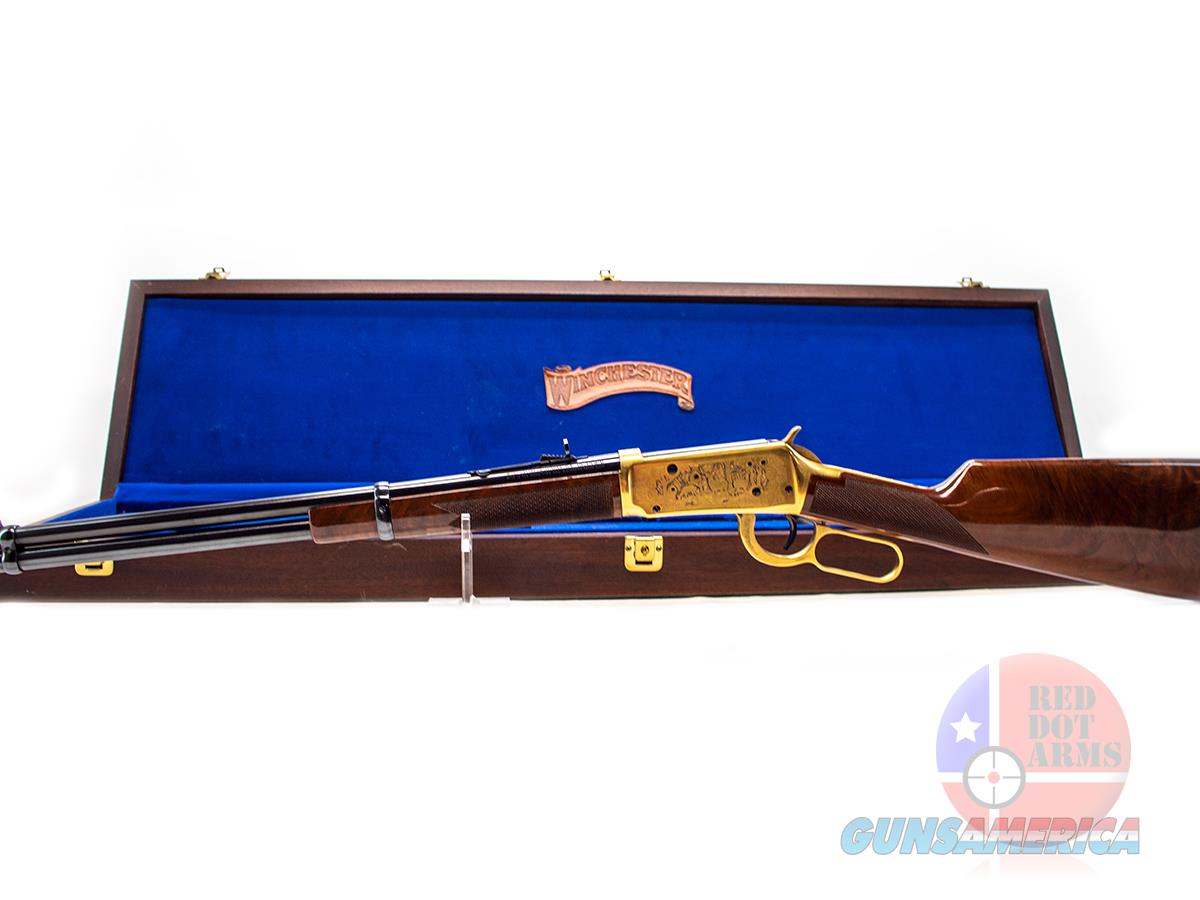 "Winchester 1894 Limited Edition II .30-30 Win 20"", Lever, Gold-Plated, Presentation Case  Guns > Rifles > Winchester Rifle Commemoratives"