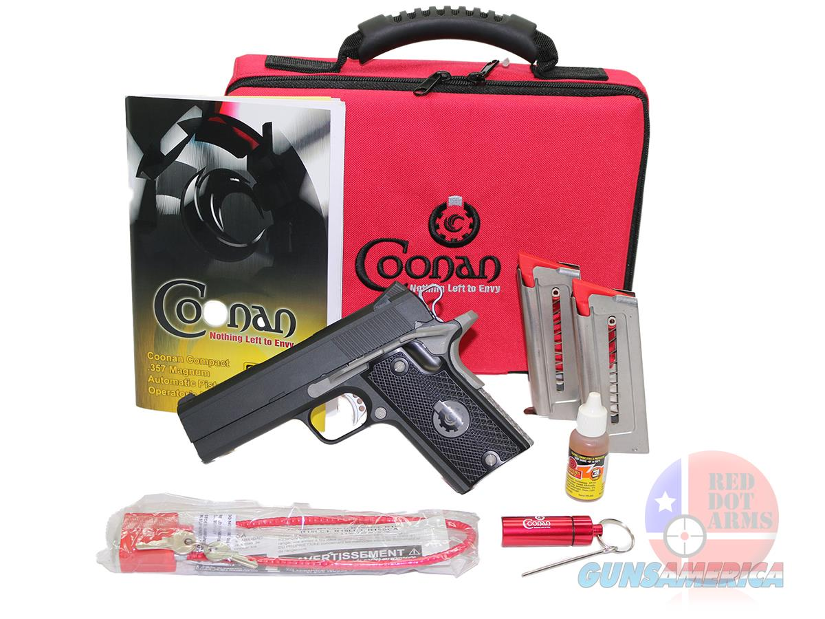"Coonan Compact 357 MAG 4"", Fixed, Night Sights  Guns > Pistols > Coonan Arms Pistols"