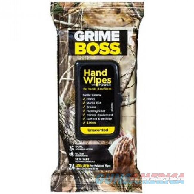 Factory New - Grime Boss Heavy Duty Hand & Surface Wipe Unscented 24-Pack - Lot of 3  Non-Guns > Miscellaneous