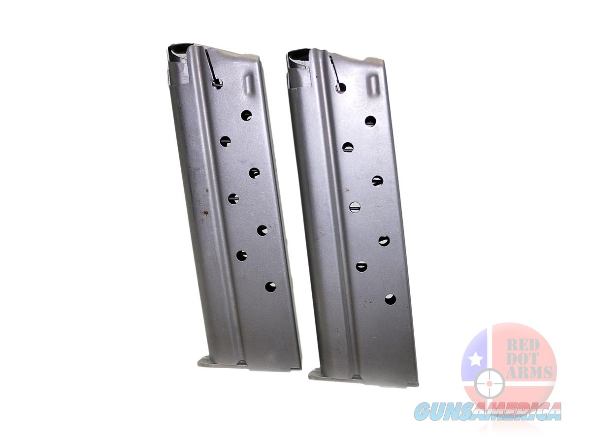 2 Metalform Colt Gold Cup 1911 9mm 8 Round Stainless Magazines  Non-Guns > Gun Parts > 1911