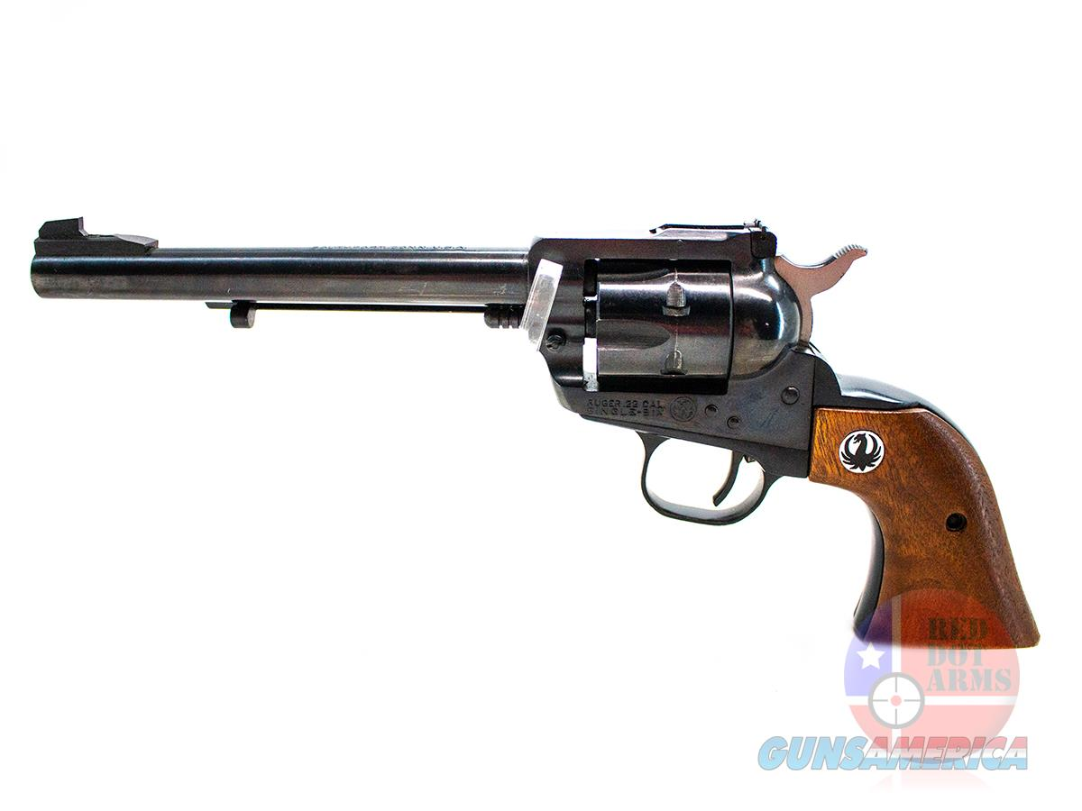 Ruger Single Six .22LR, Blued  Guns > Pistols > Ruger Single Action Revolvers > Single Six Type