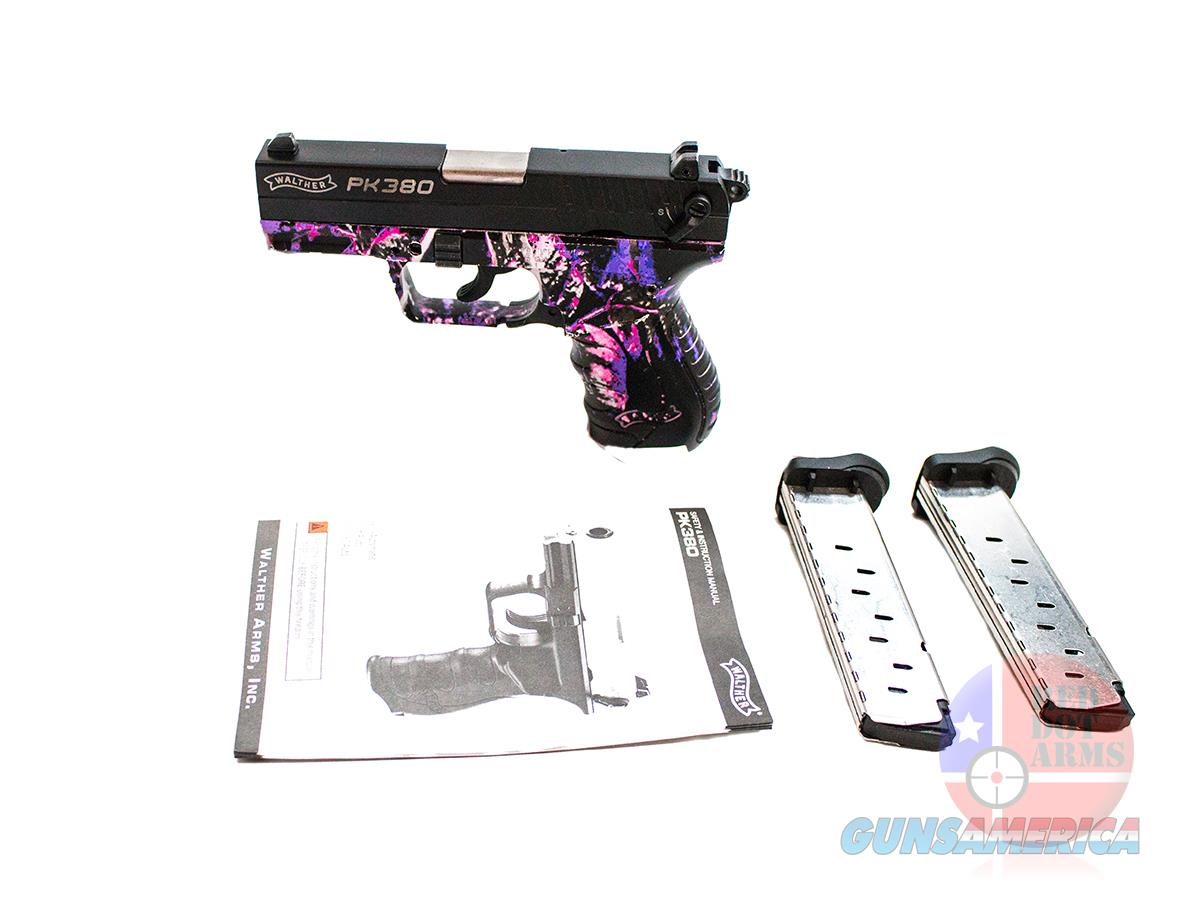 "Walther PK380 Muddy Girl Camo .380 3.66"", Original Hard Case  Guns > Pistols > Walther Pistols > Post WWII > PK380"