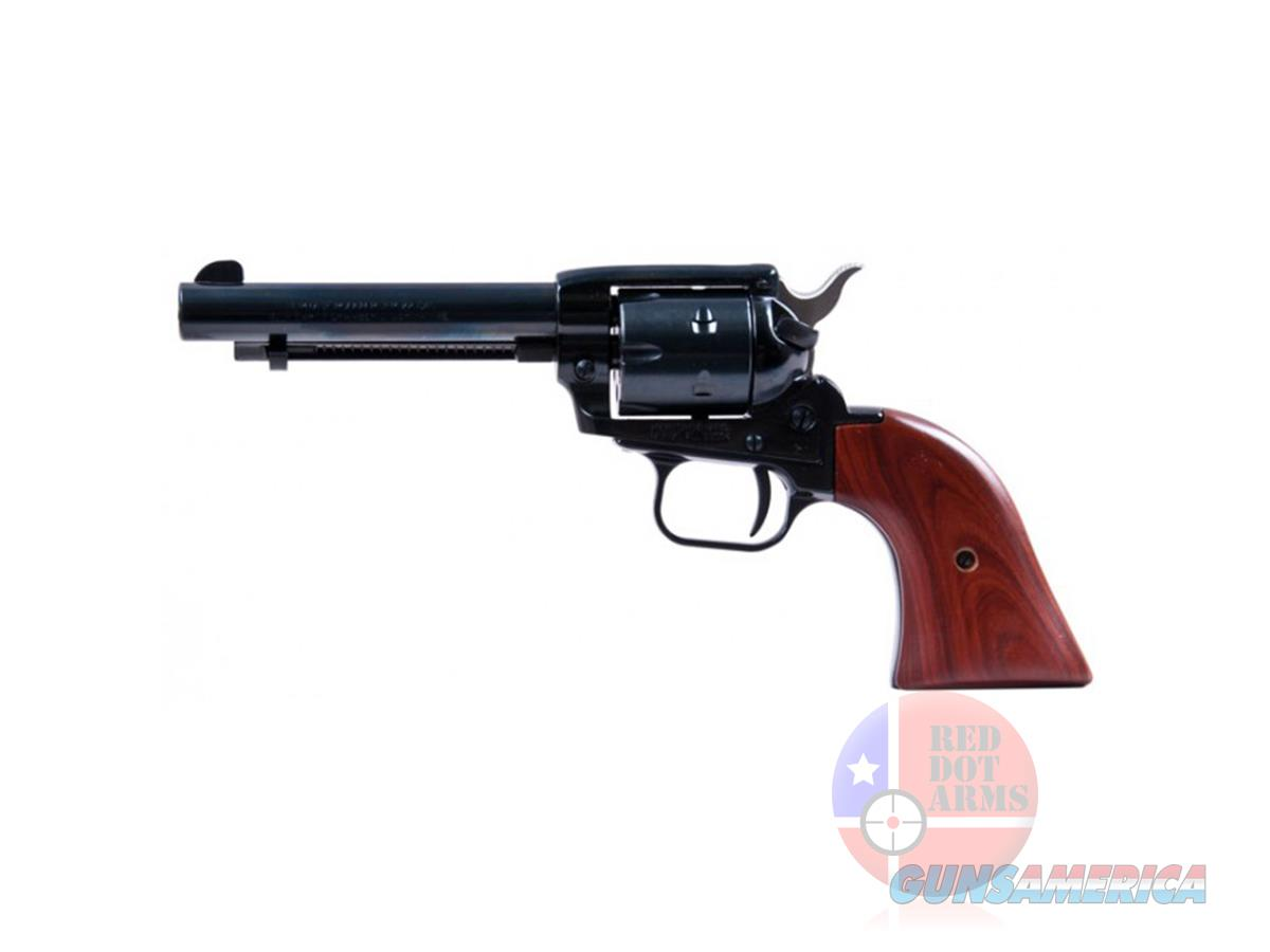 "Factory New - Heritage Rough Rider Small Bore 22 LR 4.75"", Blued, Cocobolo Wood Grip  Guns > Pistols > Heritage"