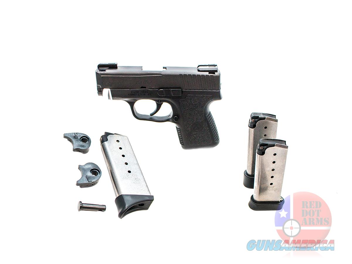 "Kahr Arms PM9 9mm 3.1"", TruGlo TFX Night Sights, Original Hard Case  Guns > Pistols > Kahr Pistols"