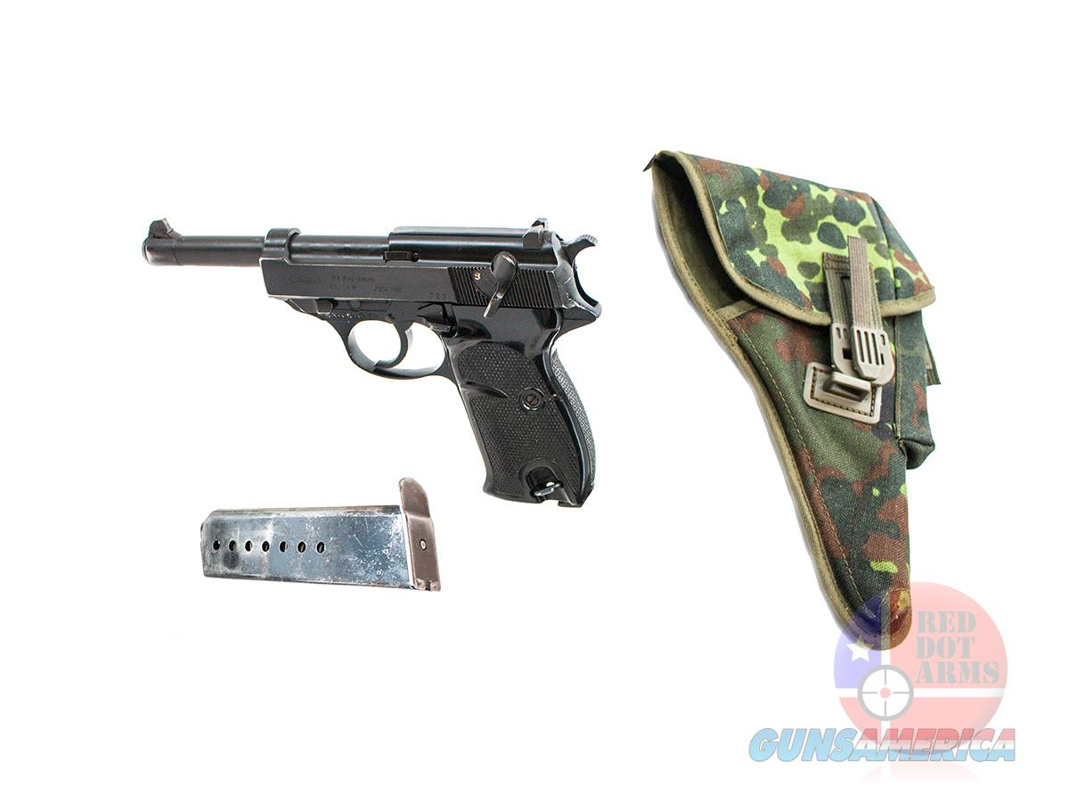 "Walther P1 9mm 5"", Camo Officer Holster  Guns > Pistols > Walther Pistols > Post WWII > P38"