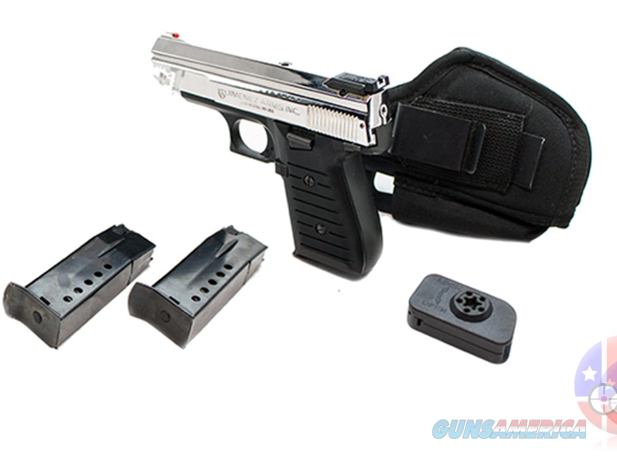 "Jimenez Arms J.A. Nine 9mm 3.75"", Chrome  Guns > Pistols > Jimenez Arms- J.A. Pistols"