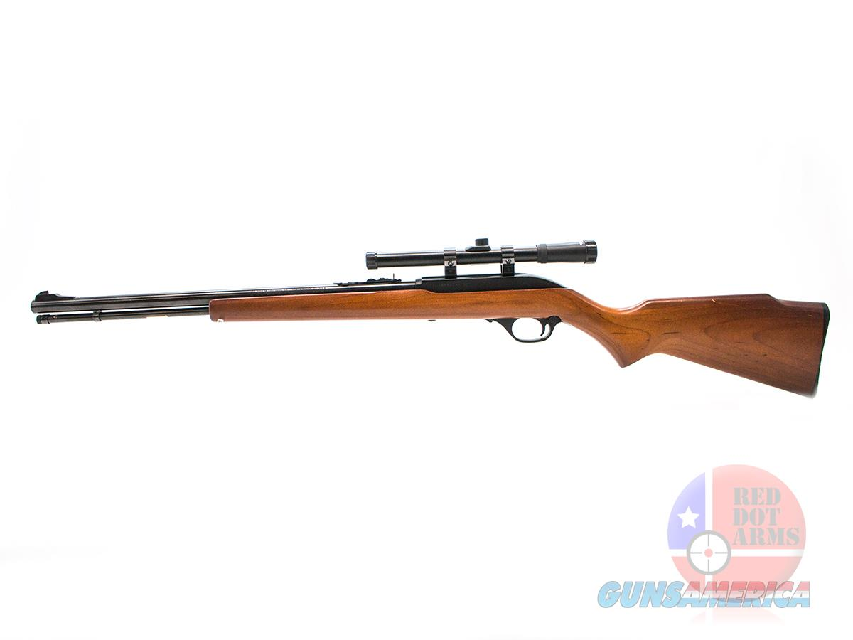 "Marlin Model 60 .22LR 19"", Optronics 4x15 Scope, Soft Case  Guns > Rifles > Marlin Rifles > Modern > Semi-auto"