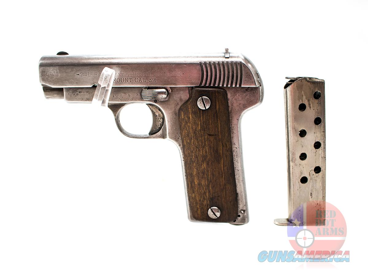 """Paramount 1915 .32 ACP 3.5"""", Wood For Sale"""