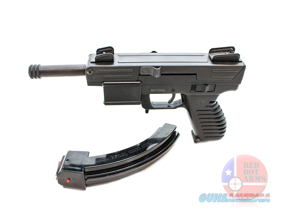"Intratec TEC-22 .22LR 4"", Black  Guns > Pistols > Intratec Pistols"