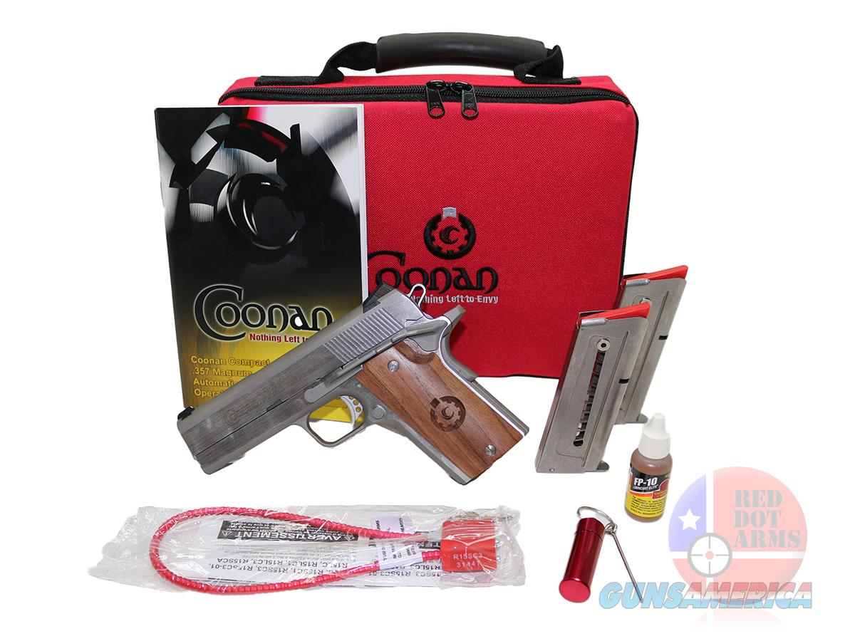 "Coonan Compact 357 MAG 4"", Fixed, White Dot Sights  Guns > Pistols > Coonan Arms Pistols"