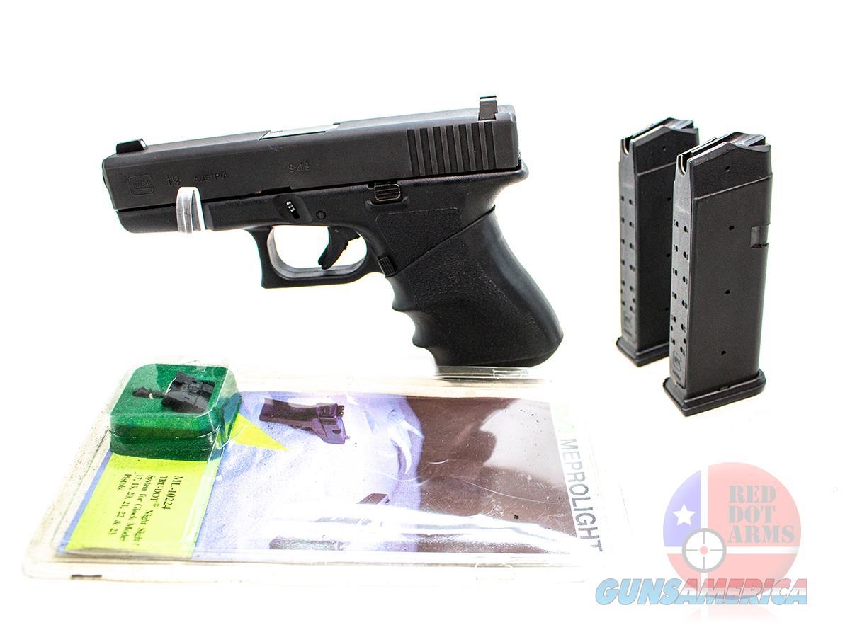 "Glock 19 Gen2 9mm 4"", Black  Guns > Pistols > Glock Pistols > 19/19X"