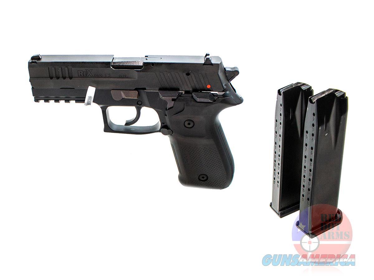 "Arex Rex Zero 1S 9mm 4.3"", Graphite Black, Hard Case  Guns > Pistols > A Misc Pistols"