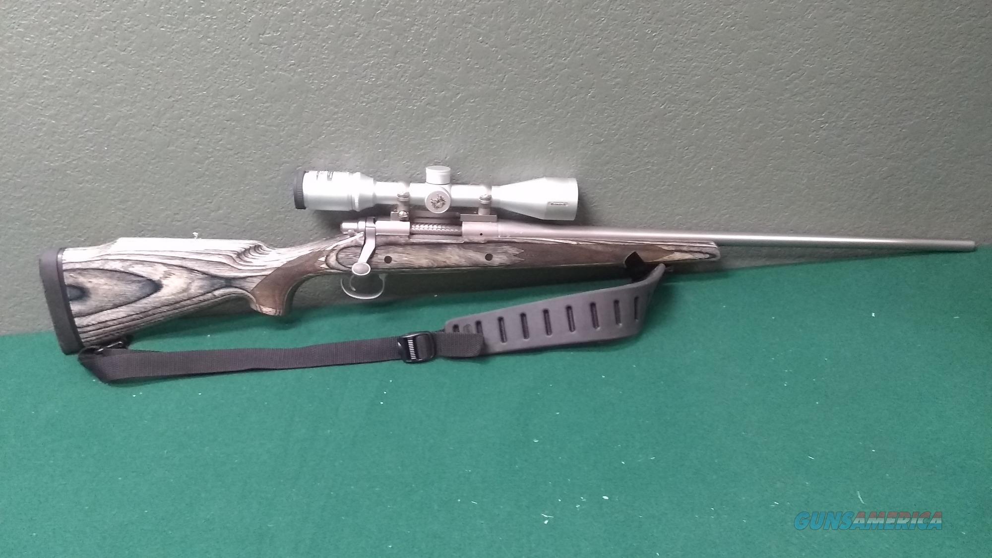 Remington 700LSS - 300WSM - Stainless - Nikon Monarch  Guns > Rifles > Remington Rifles - Modern > Model 700 > Sporting