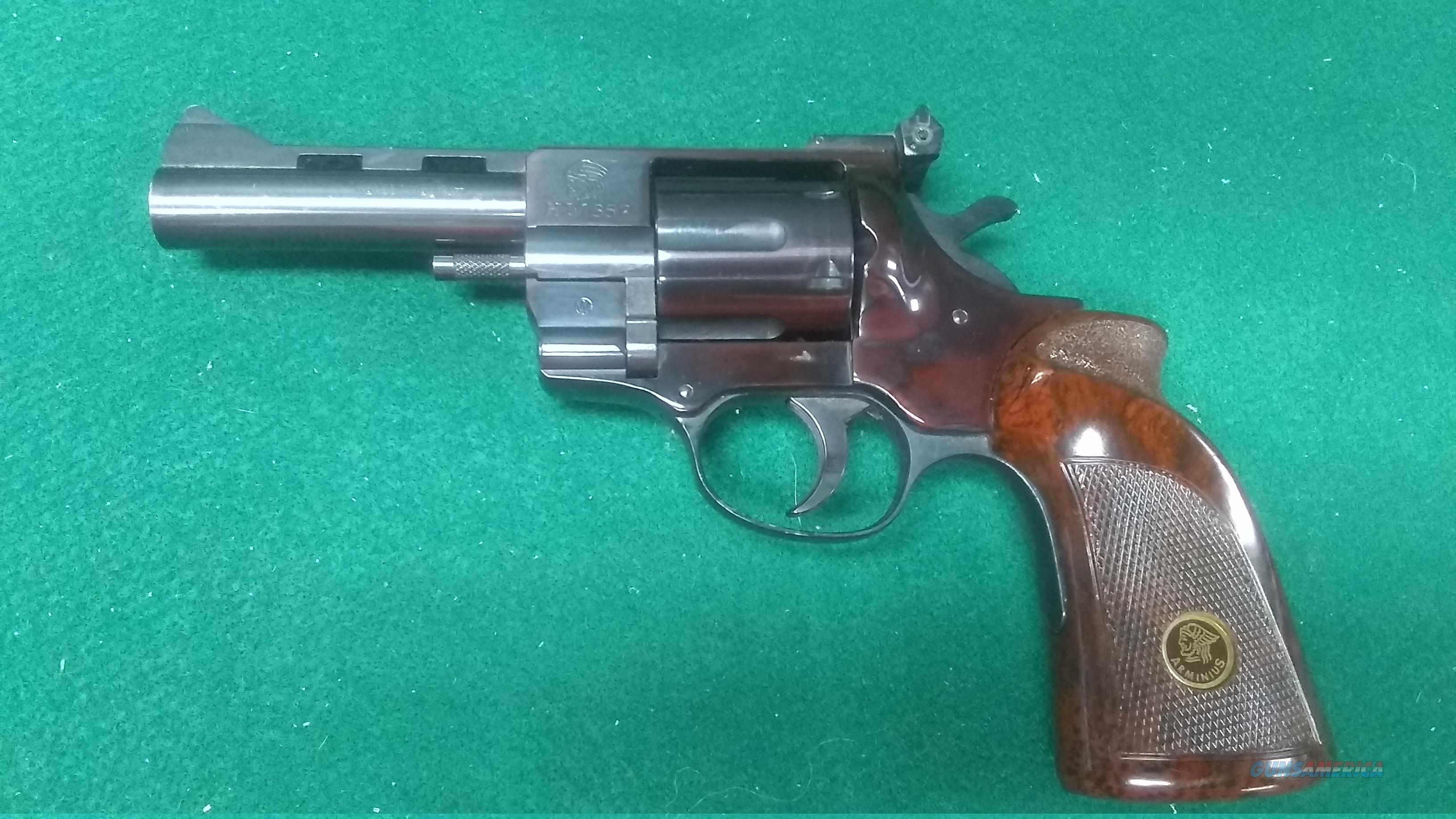 """H.R. Weihrauch HW 357 - .357 Magnum - 4"""" Barrel   Guns > Pistols > W Misc Pistols"""