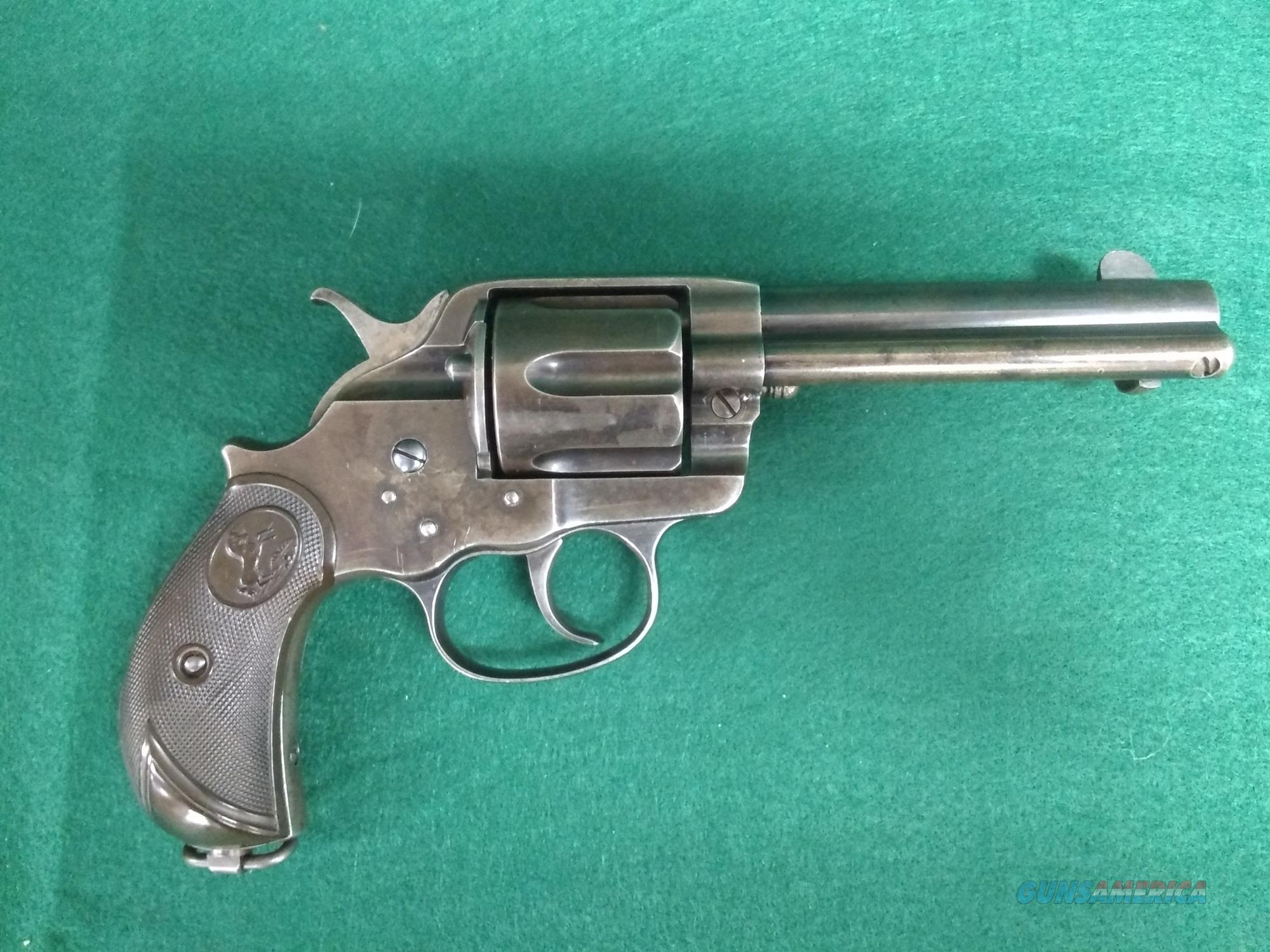 "Colt 1878 Revolver - 45LC - 4.75"" Barrel - All Original - Colt Letter  Guns > Pistols > Colt Double Action Revolvers- Pre-1945"