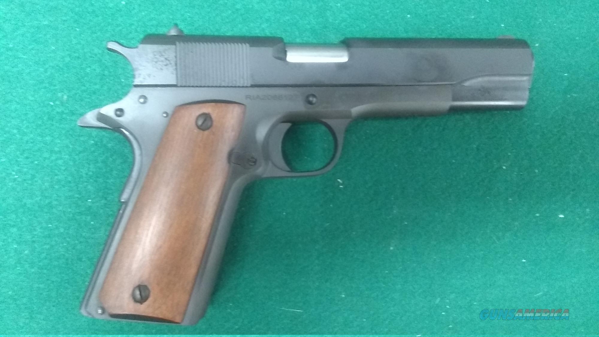 Rock Island Armory GI Series 1911 Semi Auto Pistol 38 Super  Guns > Pistols > Rock Island Armory Pistols > Rock Island
